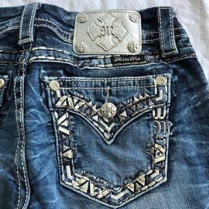 Miss Me Signature Crop Capri Jeans 27